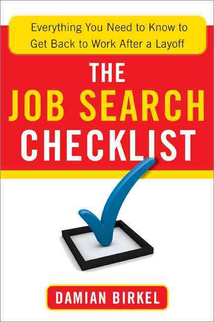 The Job Search Checklist By Birkel, Damian