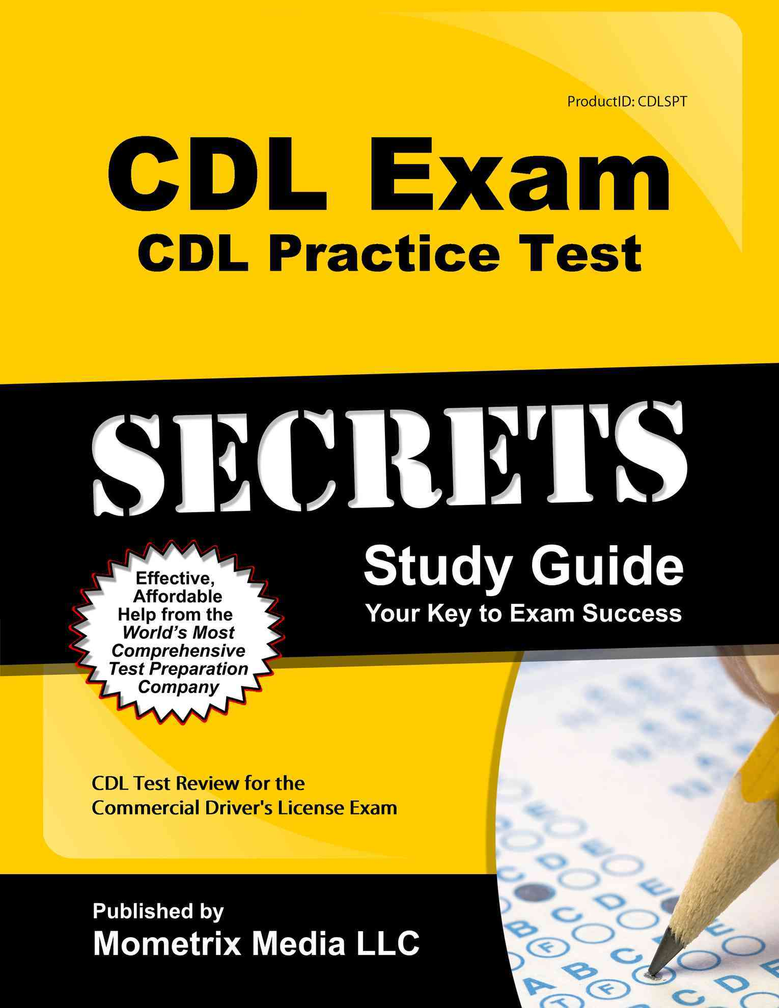 Cdl Exam Secrets - Cdl Practice Test Study Guide By Cdl Exam Secrets (EDT)